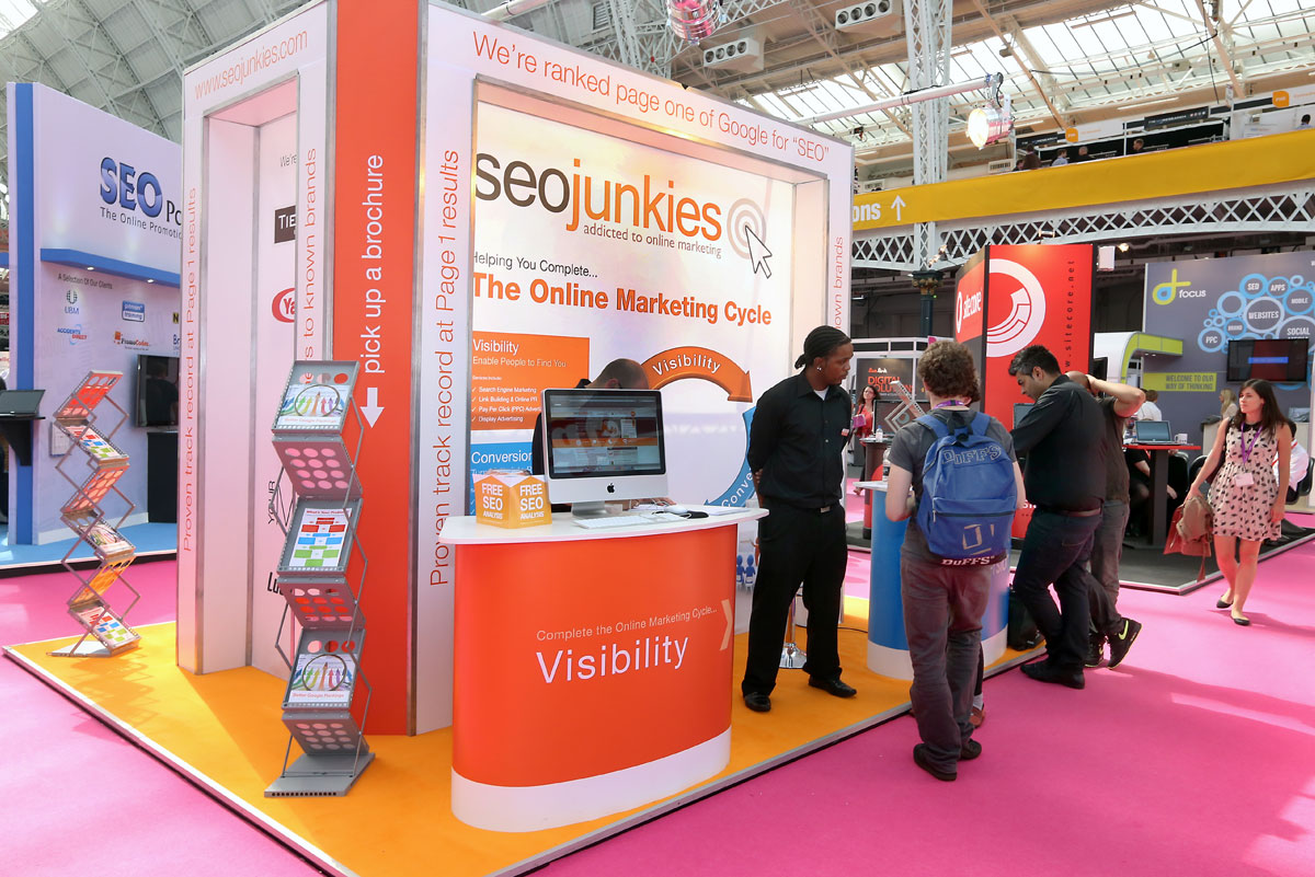 Marketing Exhibition Stand Uk : Exhibition stand ideas & examples rock solid exhibitions