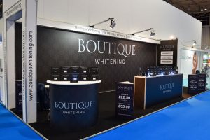 Boutique Whitening Exhibition-Stand