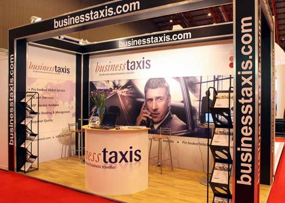 Business Taxis Exhibition Stand