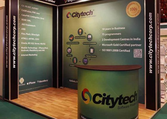 Citytech Software Exhibition Stand