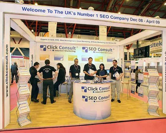 Click Consult Exhibition Stand
