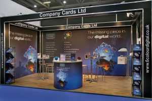 Company Cards Exhibition Stand