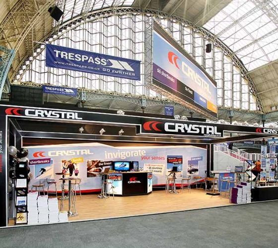 Crystal Exhibition Stand