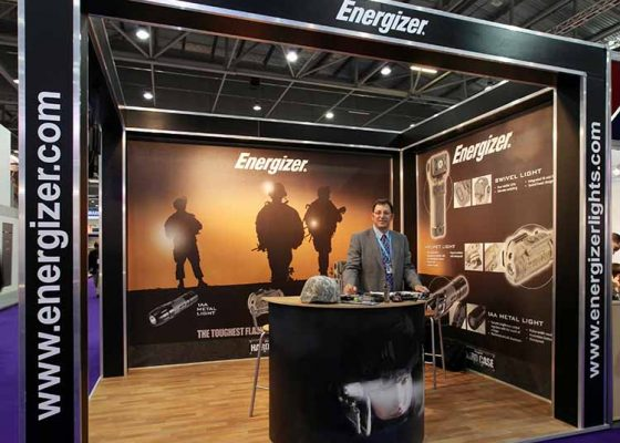 Energizer Exhibition Stand