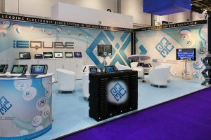 Eqube Exhibition Stand