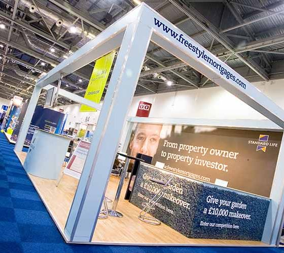 Freestyle Mortgages Exhibition Stand