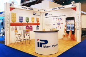 Island Pacific Exhibition Stand