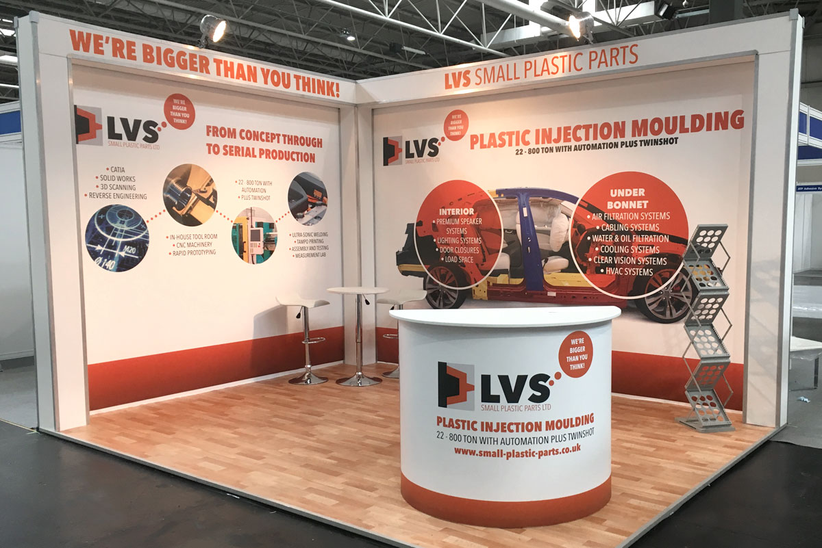 Small Exhibition Stands : Exhibition stand ideas examples rock solid exhibitions