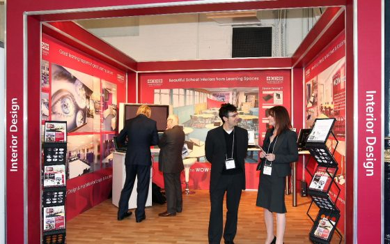Learning Spaces Exhibition Stand
