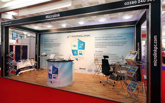 Microlink Exhibition Stand