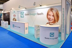 Quick Straight Teeth Exhibition Stand