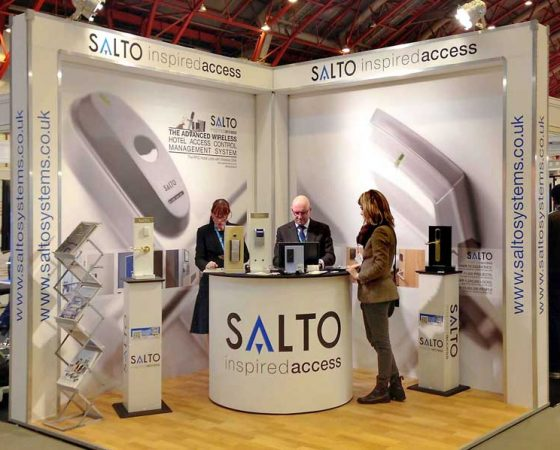 Salto Exhibition Stand