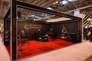 She Who Dares Exhibition Stand