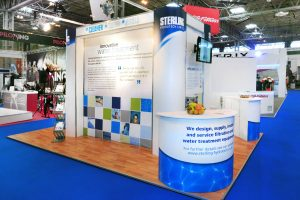 Sterling Hydrotech Exhibition Stand
