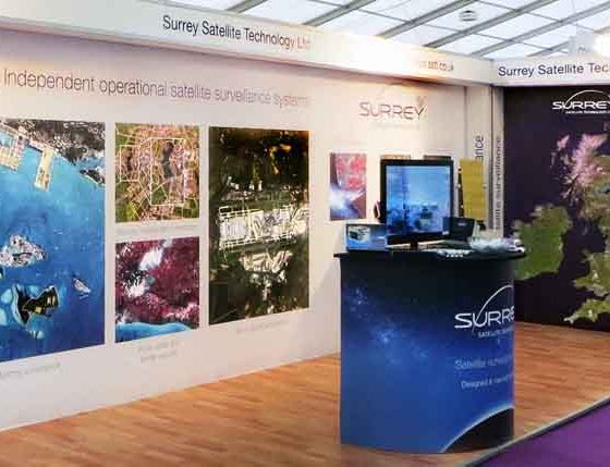 Surey Satellite Technology Exhibition Stand