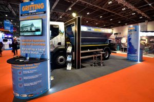 The Gritting Company Exhibition Stand