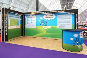 The Thinking Shed Exhibition Stand