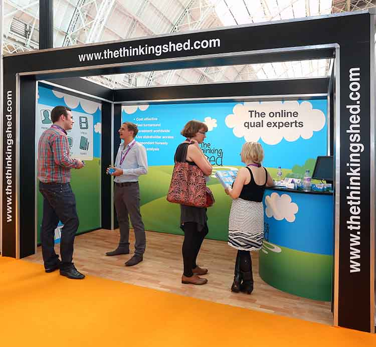 Marketing Exhibition Stand Builders : Exhibition stands for marketing week live rock solid