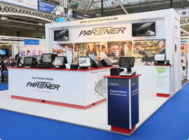 Parttner Exhibition Stand