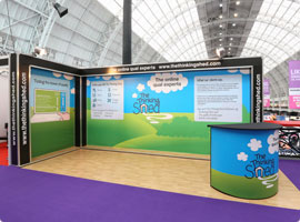 Exhibition Stand Designs Uk : Exhibition stand design & build packages rock solid exhibitions