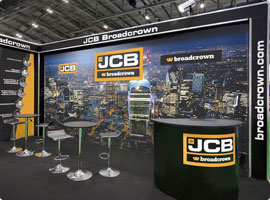 JCB Exhibition Stand