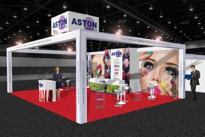 Aston Chemicals 3D Stand Concept