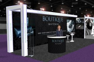 Boutique Whitening 3D Stand Concept