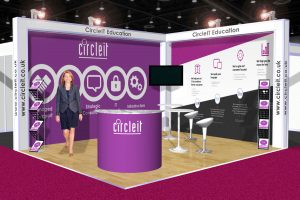 Circle IT 3D Stand Concept