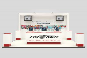 Partner 3D Stand Concept