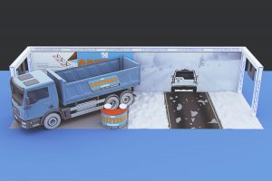 The Gritting Company 3D Stand Concept