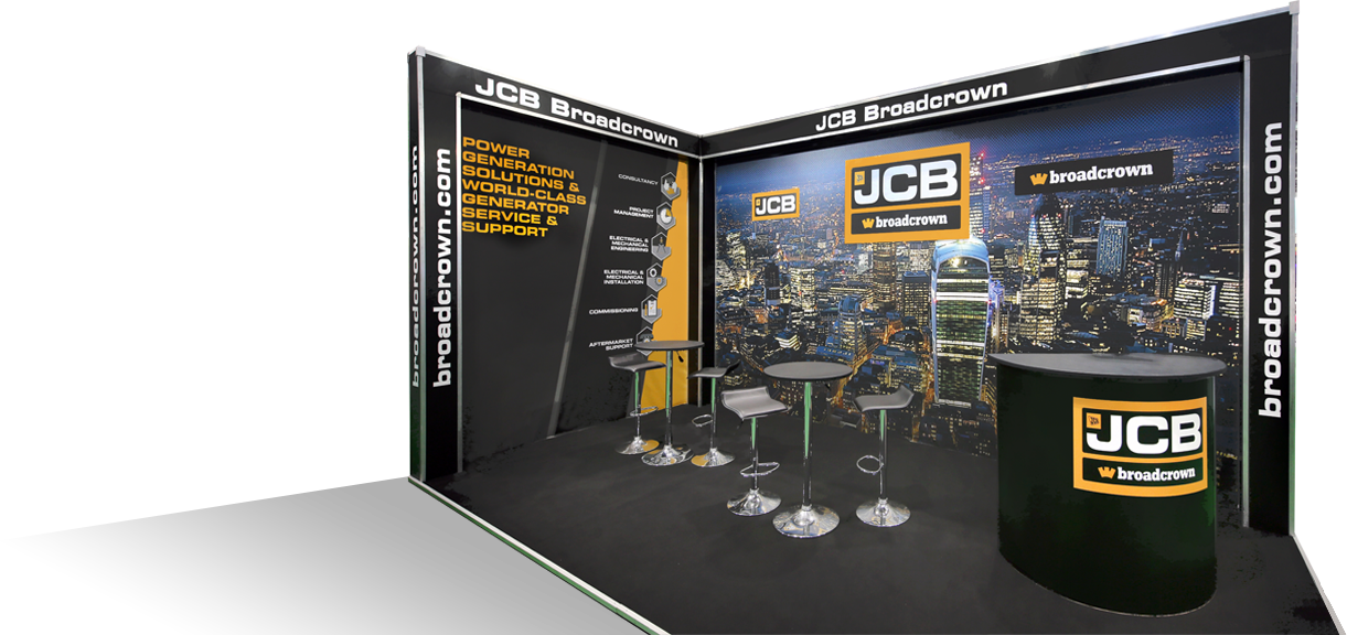 JCB Broadcrown Stand