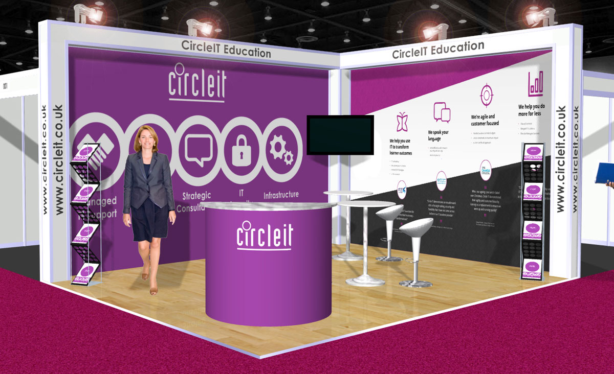 Exhibition Stand Dimensions : Modular exhibition stand systems rock solid exhibitions