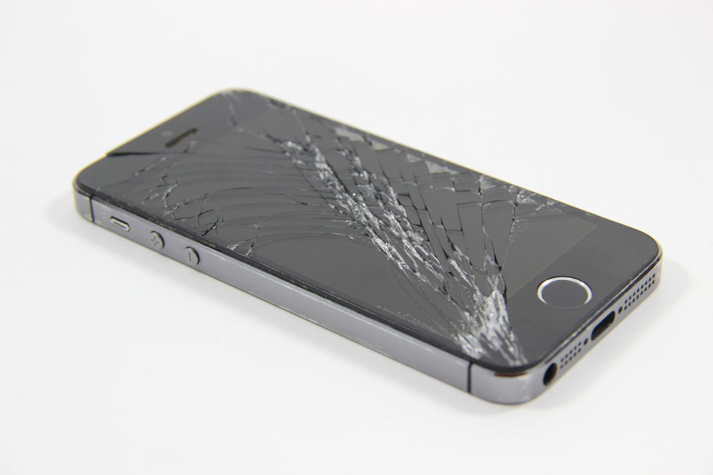 iPhone Cracked Display Screen